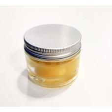 Beeswax jar